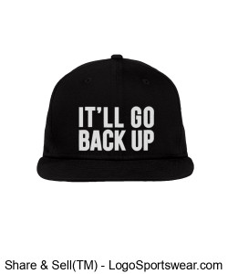Snapback Hat Design Zoom
